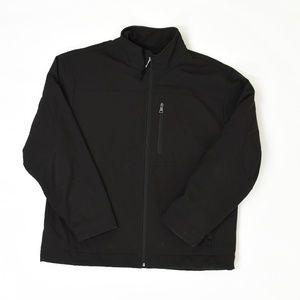 Weatherproof Regular L Black   Jacket Polyester So